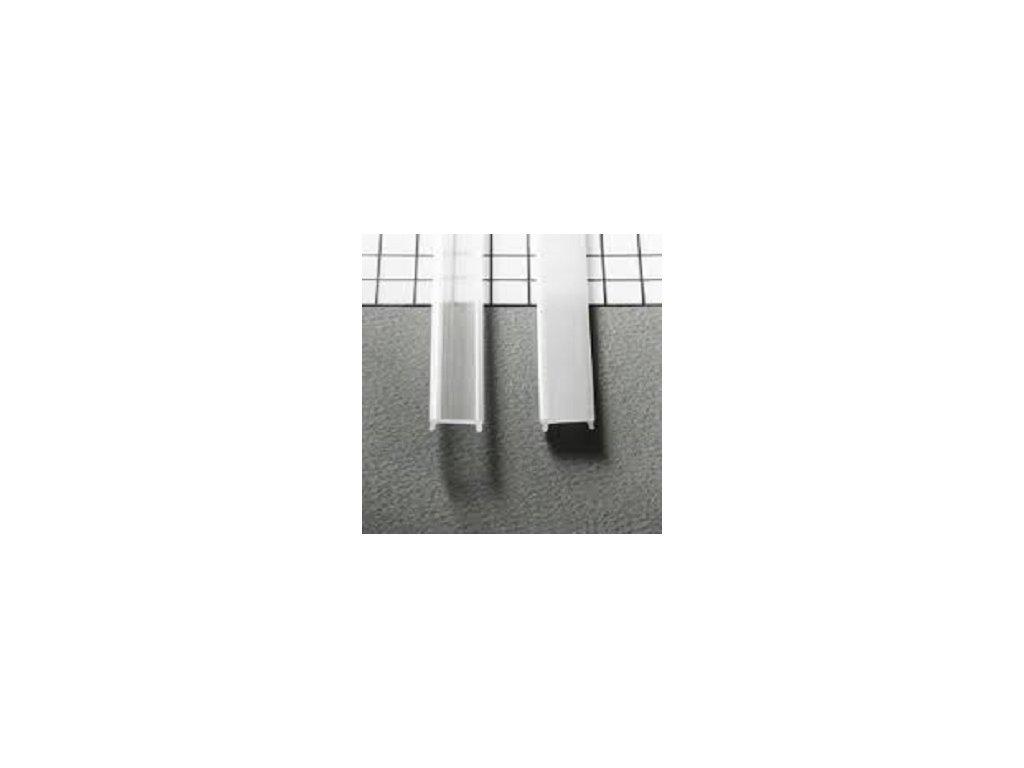 Kryt na LED lištu číry (2m)