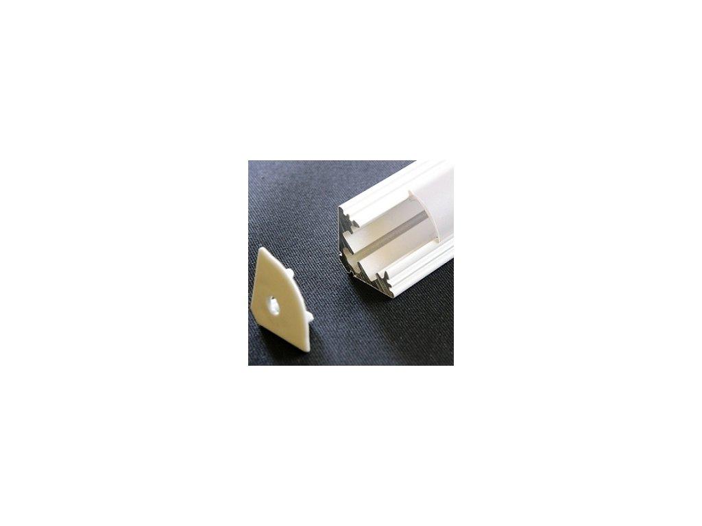 LED lišta rohová biela (2m)