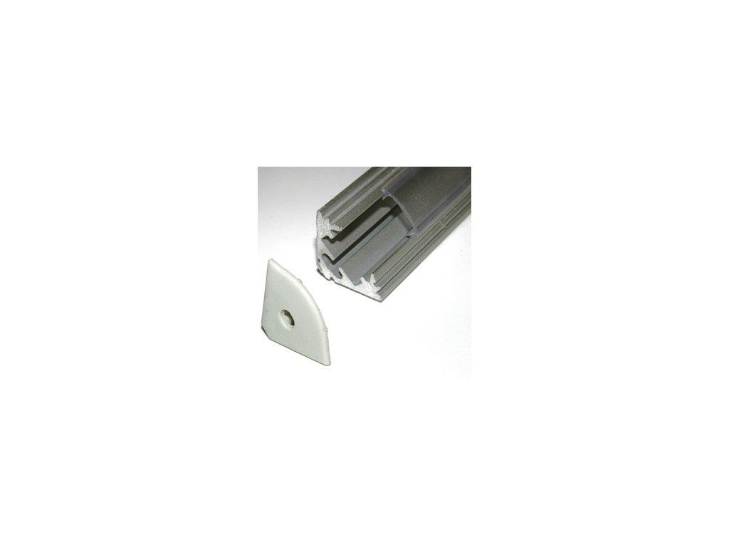 LED lišta rohová hliník (2m)