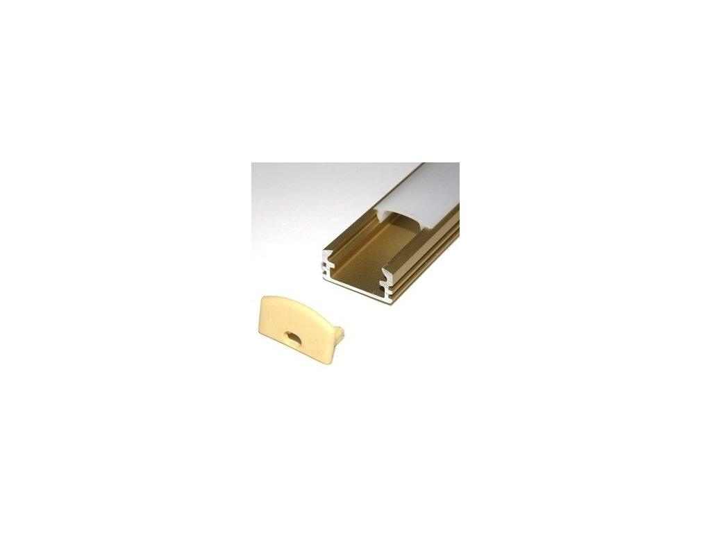 LED lišta zlatá (2m)