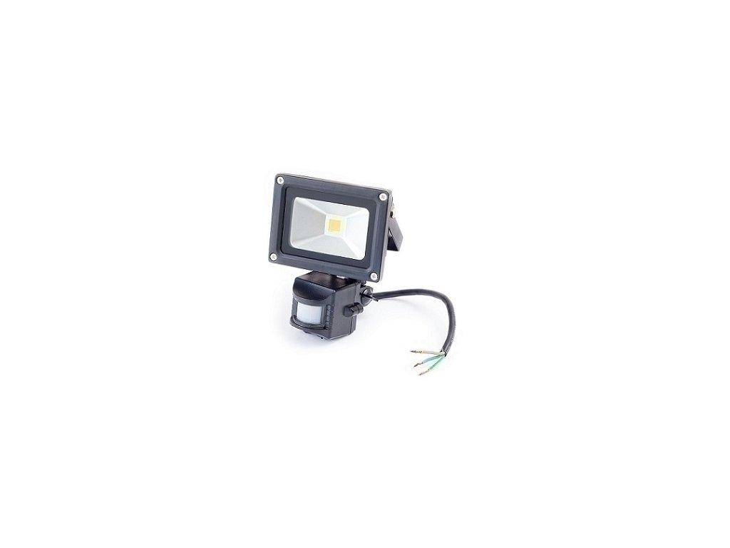 LED reflektor so senzorom 10W, studená biela