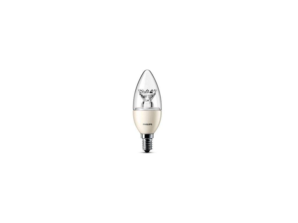 Žiarovka PHILIPS LEDcandle, E14 4-25W