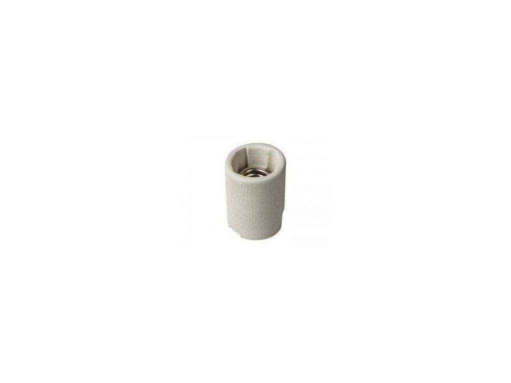 Objímka E14 porcelánová