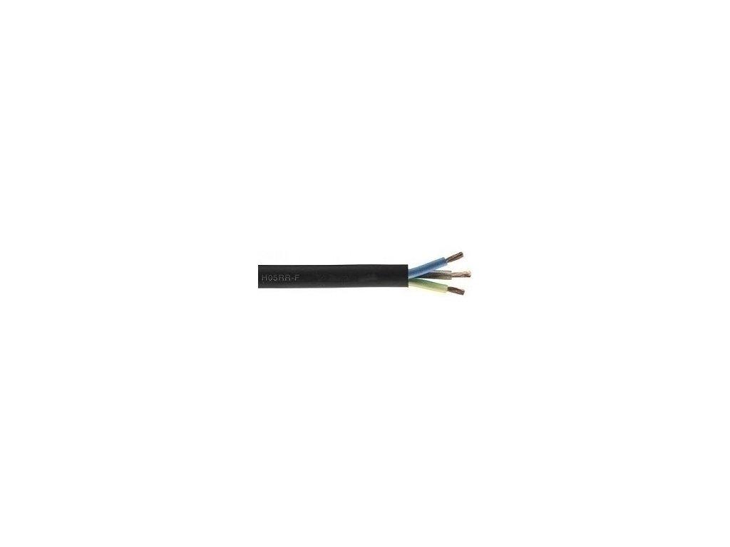 Kábel H05RR-F 3G1,5 guma