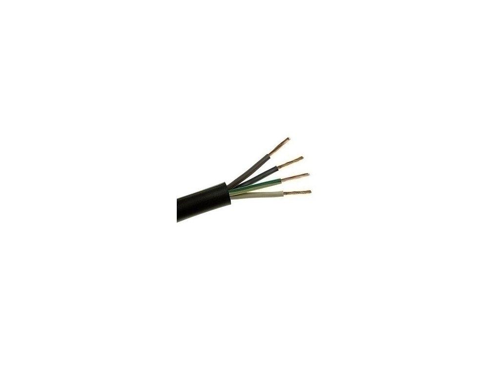 Kábel H05RR-F 4G2,5 guma