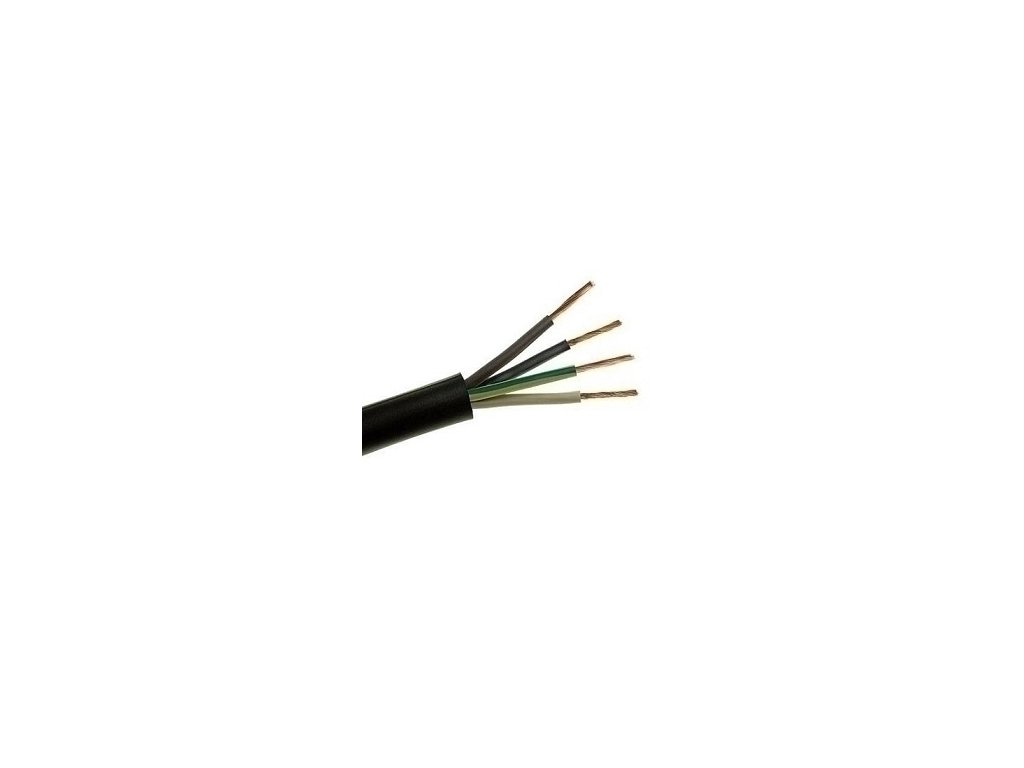 Kábel H05RR-F 4G6 guma