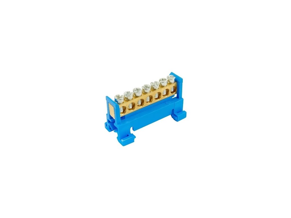 Nulový mostík N7, modrý
