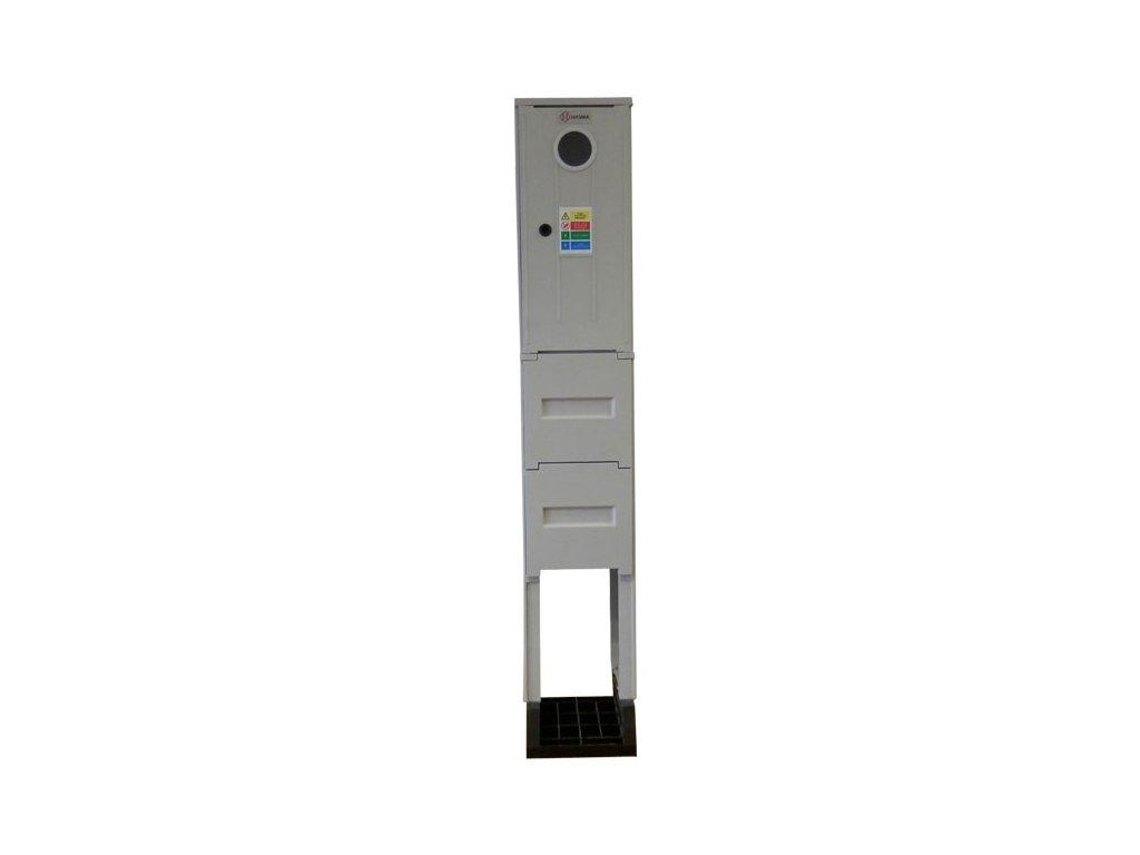Elektromerový rozvádzač  so zemným dielom - JEDNOTARIF