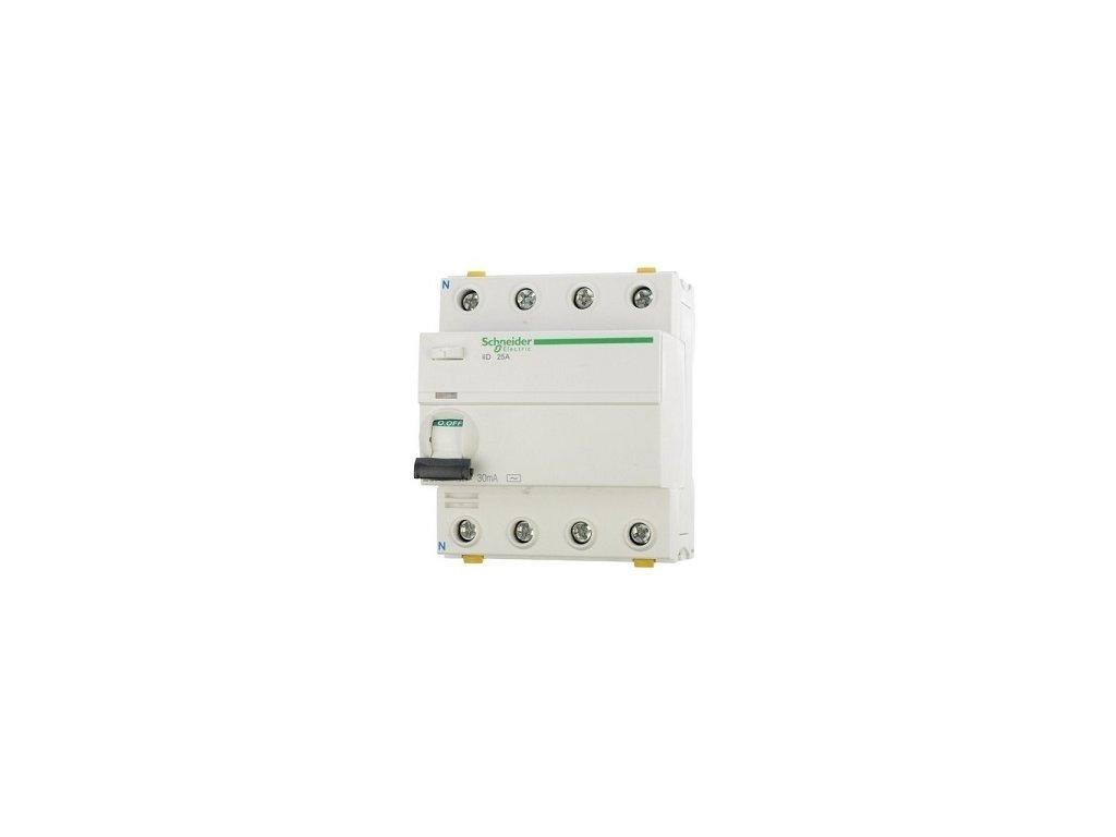 Prúdový chránič IID 40A/4P/30mA 10kA