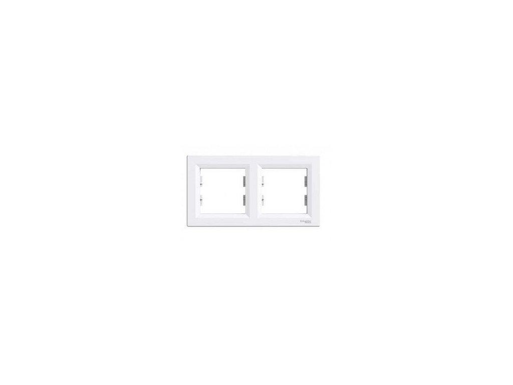Schneider ASFORA 2 rámik biely