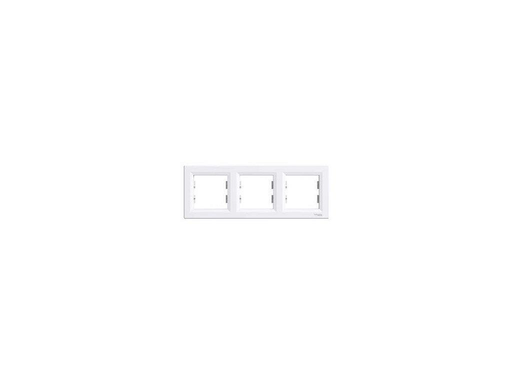 Schneider ASFORA 3 rámik biely