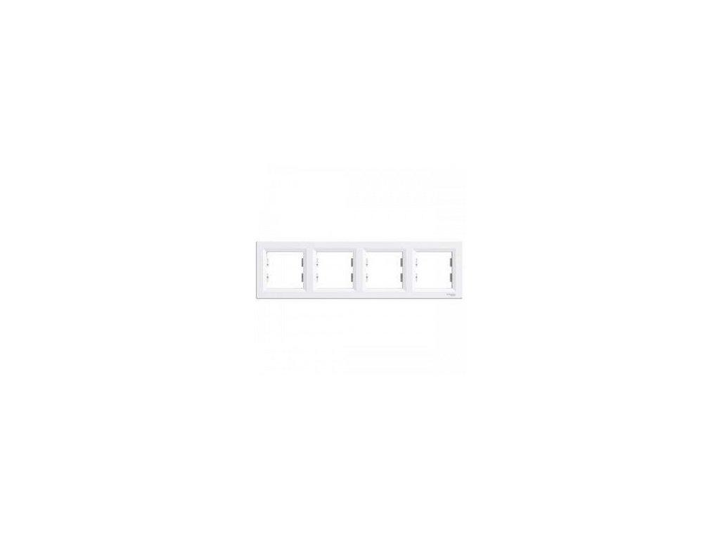 Schneider ASFORA 4 rámik biely