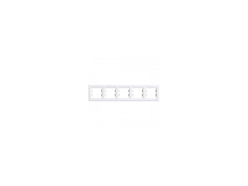 Schneider ASFORA 5 rámik biely
