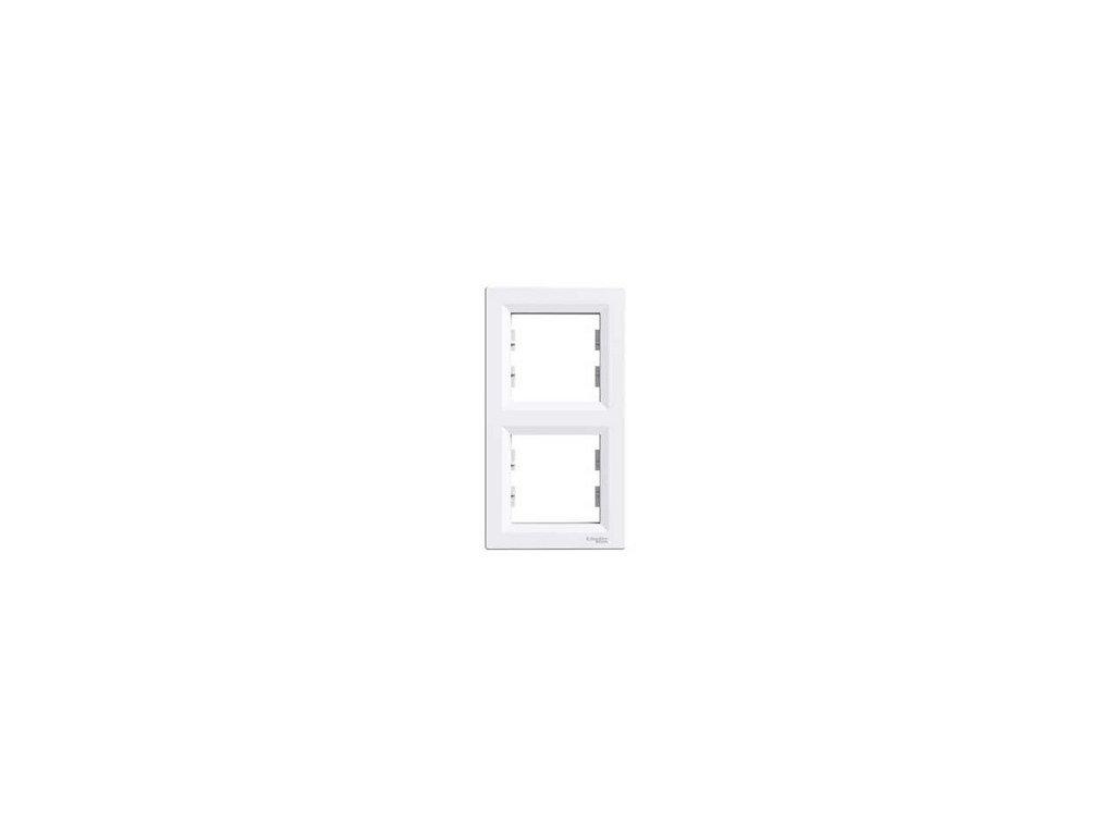 Schneider ASFORA 2 rámik vertikálny biely