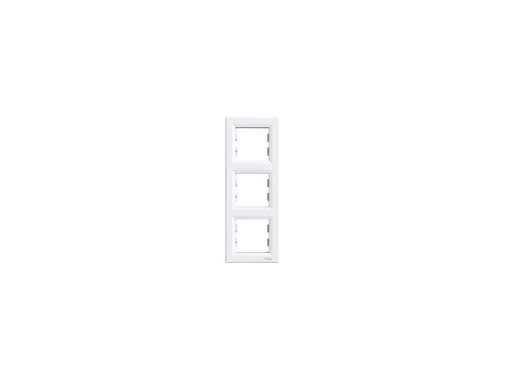 Schneider ASFORA 3 rámik vertikálny biely