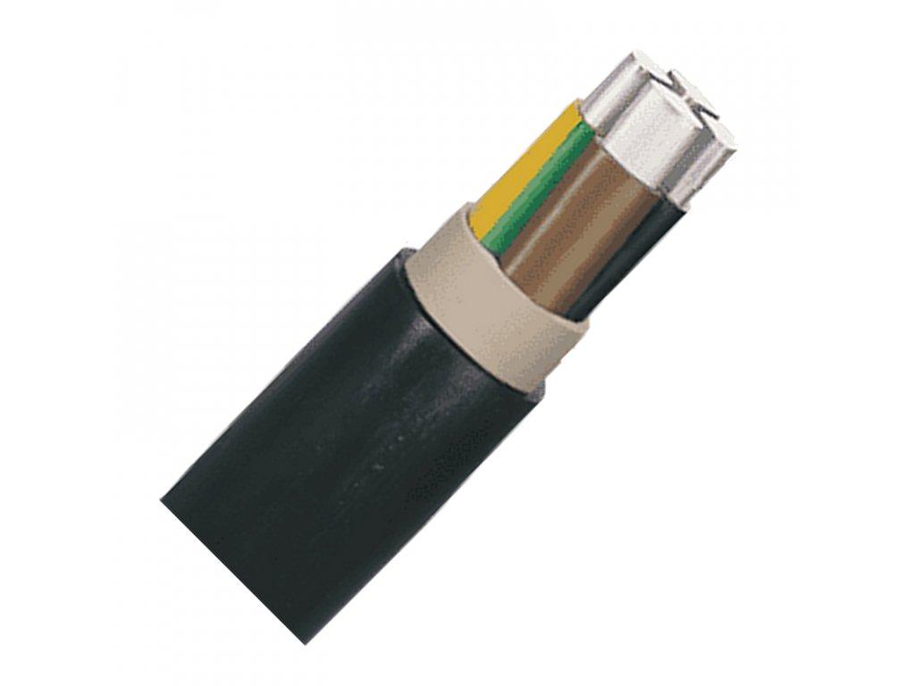 Prívodný hliníkový kábel NAYY J 4x120