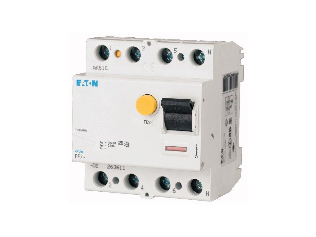 Prúdový chránič EATON PF7 25 4 003.jpg