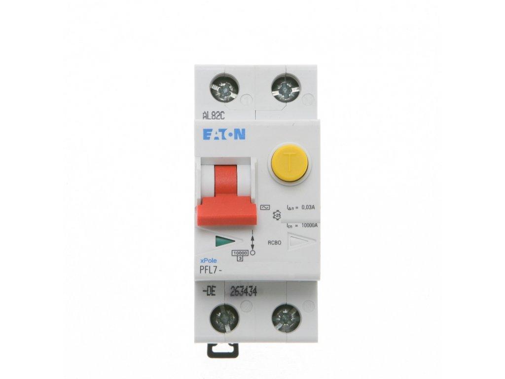 Prúdový chránič EATON PFL7 10 1N C 003.jpg