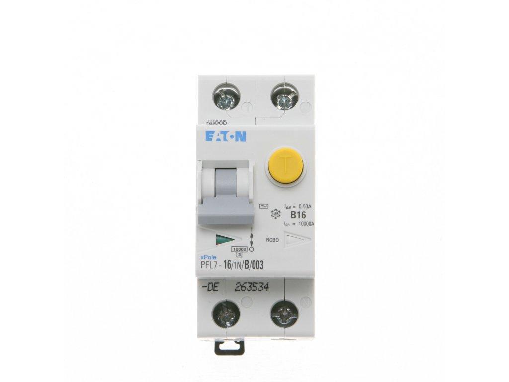 Prúdový chránič EATON PFL7 16 1N B 003.jpg