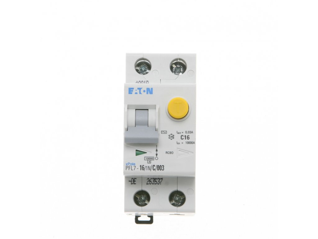 Prúdový chránič EATON PFL7 16 1N C 003.jpg