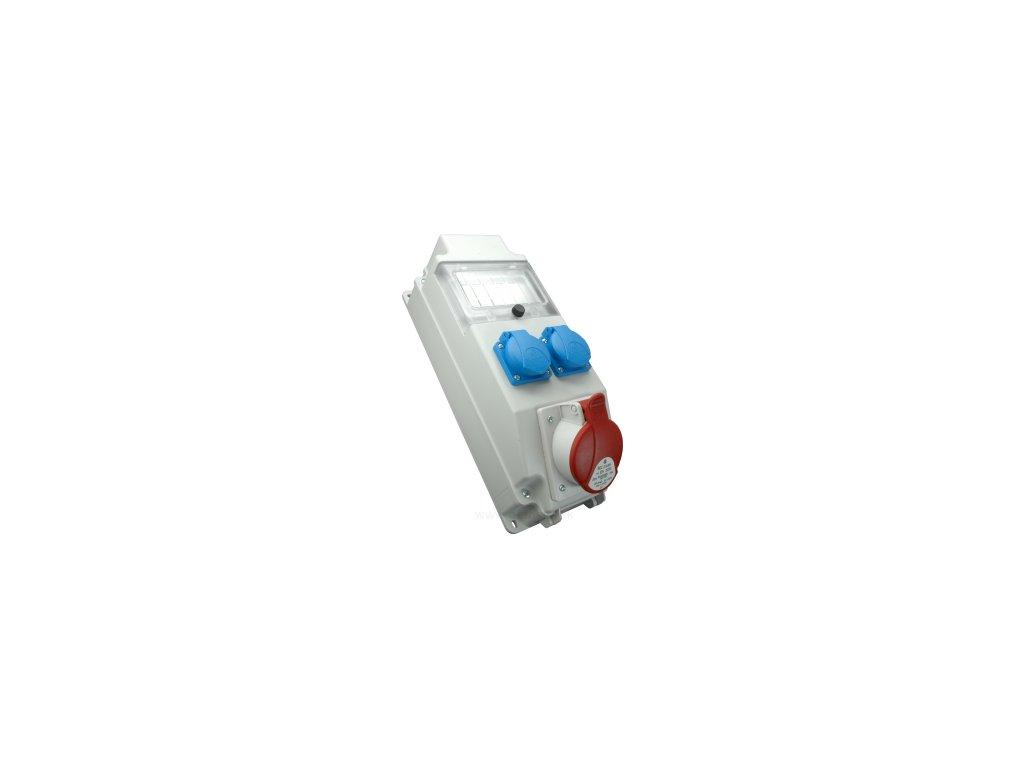 Rozvodnica zásuvková SEZ ROS 5 x 1275026