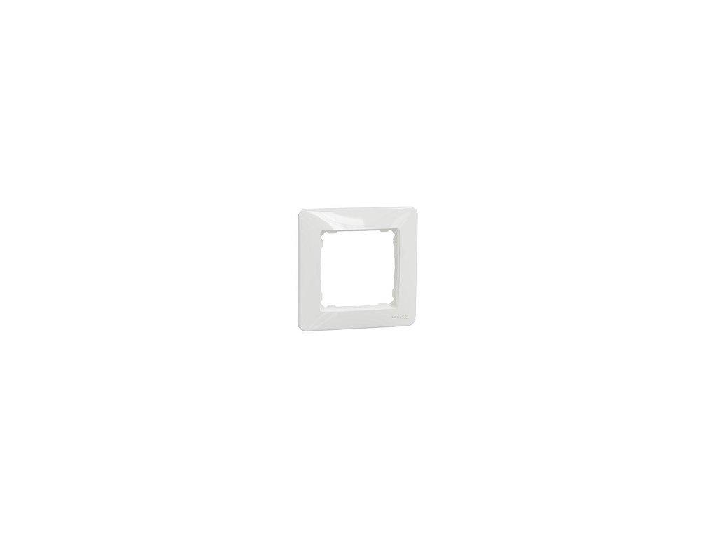 Schneider SEDNA DESIGN 1 rámik biely