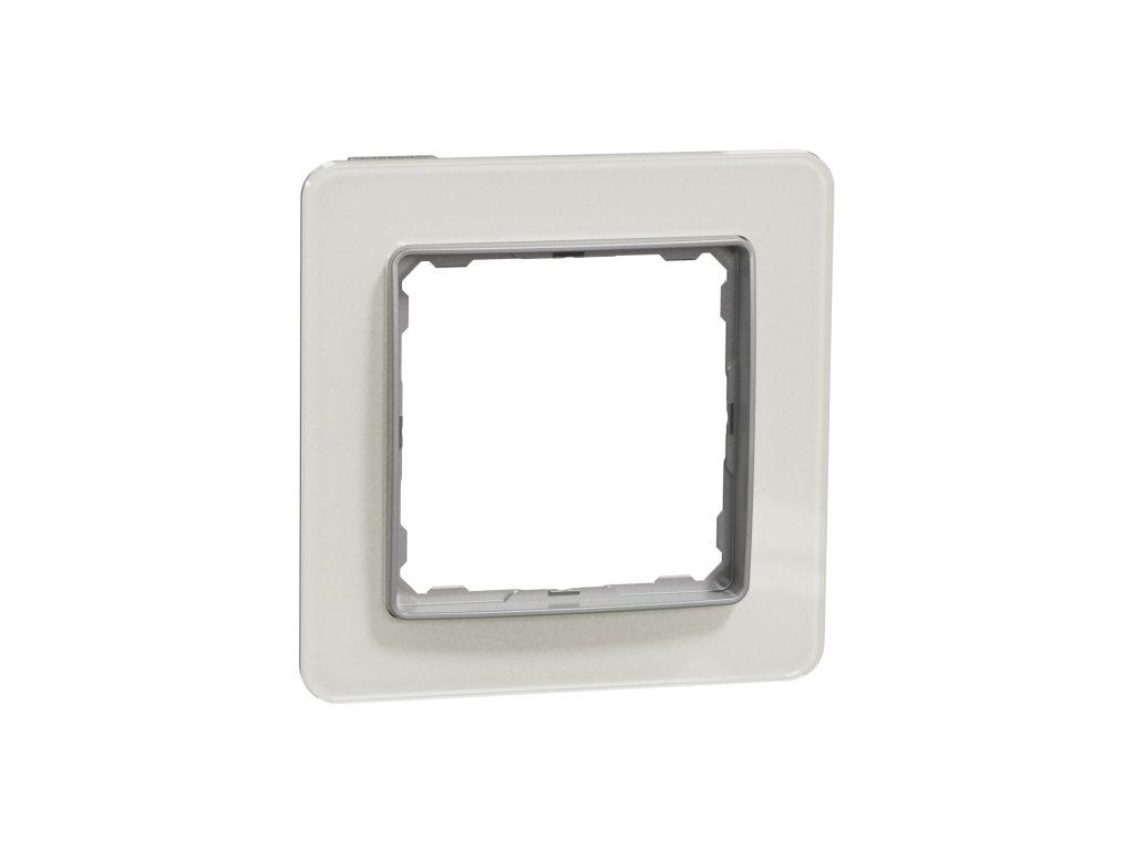Schneider SEDNA DESIGN 1 rámik biele sklo