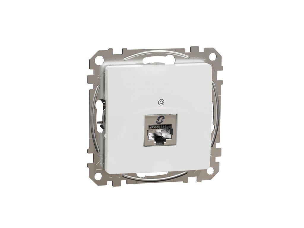 Schneider SEDNA DESIGN dátová zásuvka 1xRJ45 6 STP biela