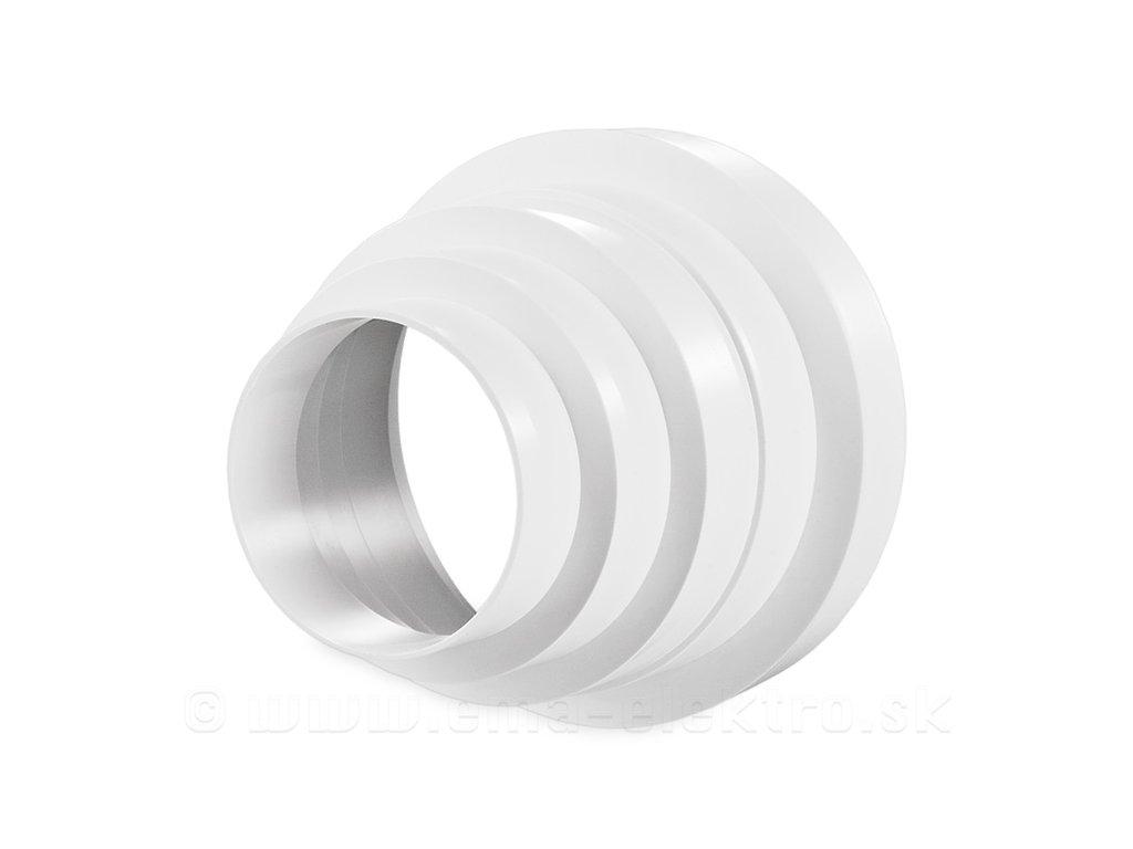 Prechod potrubia 310 80 150mm PVC