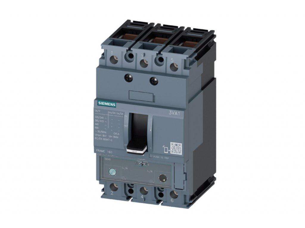 Istič výkonový 3VA1180 3EF36 0AA0 80A415V 3P 25kA