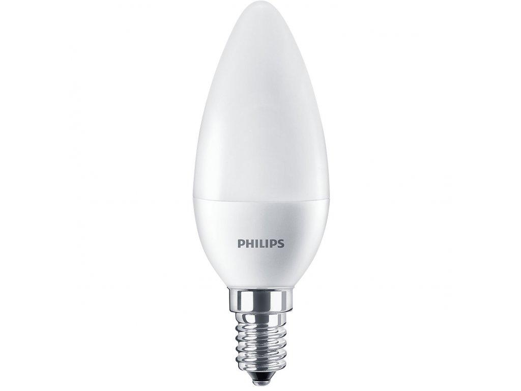 Žiarovka LED COREPRO ND 60W E14 830lm 4000K sviečka