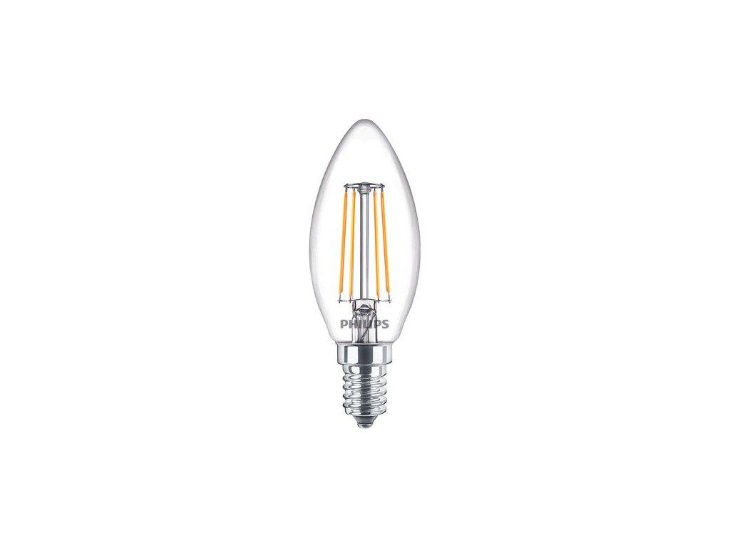 Žiarovka LED FILAMENT ND B35 CL 40W E14 470lm 2700K sviečka