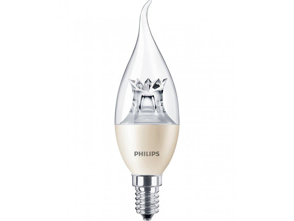 Žiarovka LED MASTER 40W E14 470lm 2700K sviečka stmiev.
