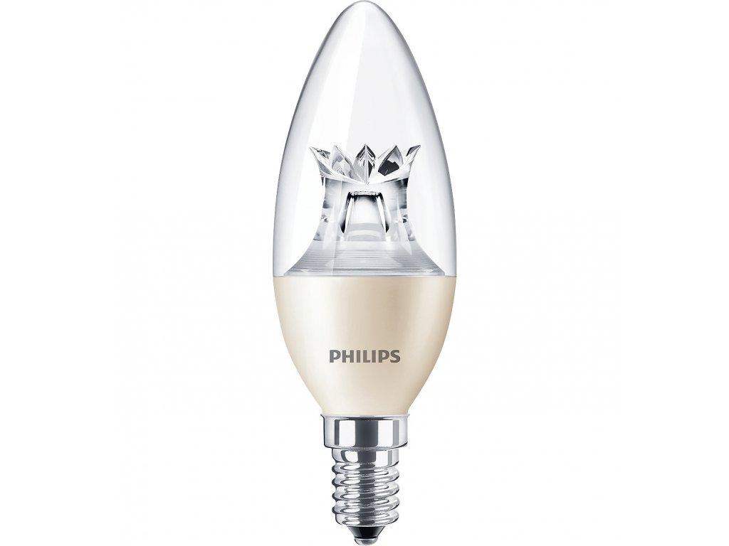 Žiarovka LED MASTER 40W E14 470lm 2700K sviečka stmiev. (2)