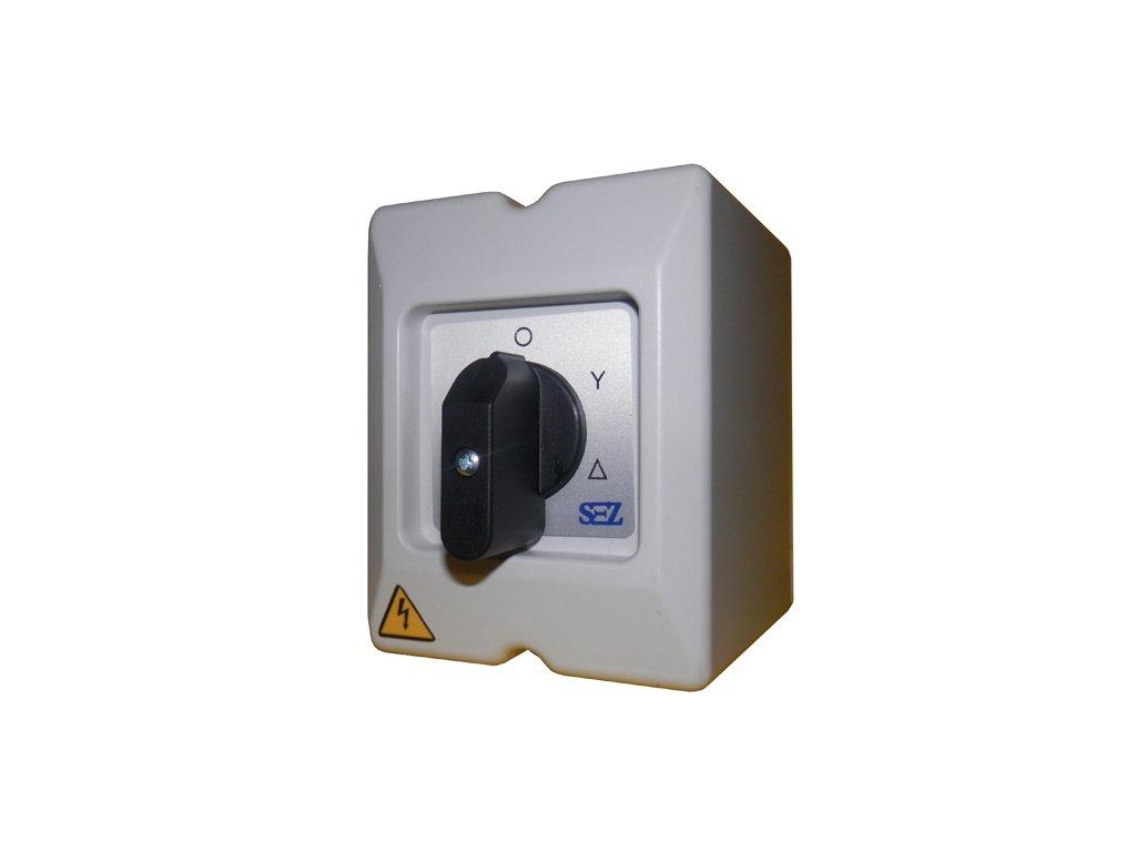 Vačkový spínač S 25 25A3P 0 Y D páčka IP65