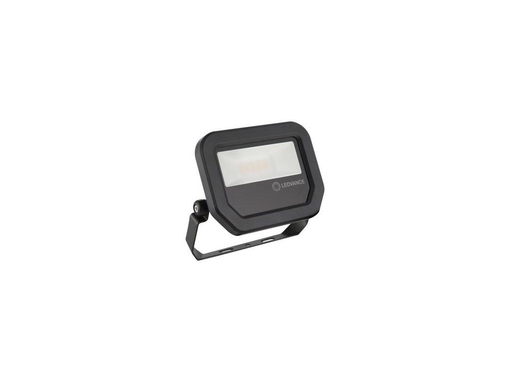 LED reflektor FL PFM 10W 1200lm 4000K 230V IP65 čierny