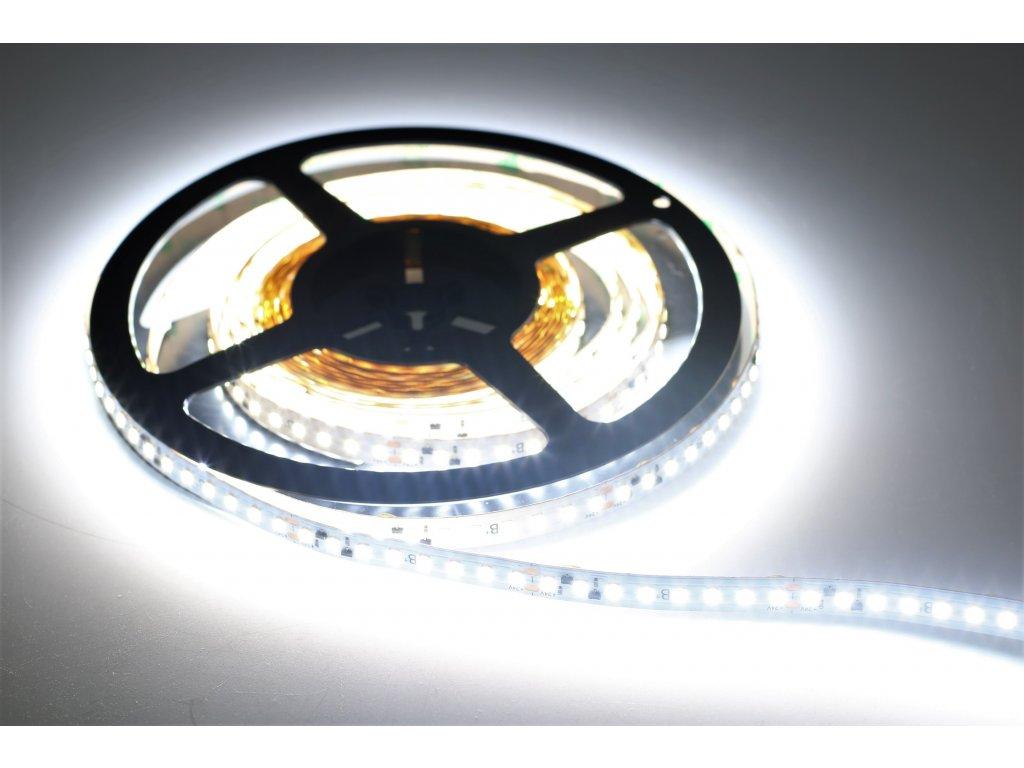 LED pás PROFI SMD 1808 5m 48W 4900lm 24V Studená biela IP65
