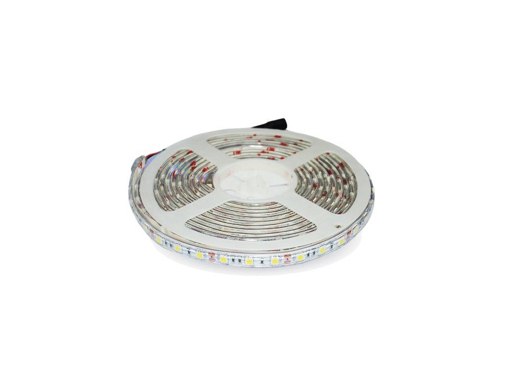 LED pás PROFI SMD 5050 72W 24V RGB+4000K IP65