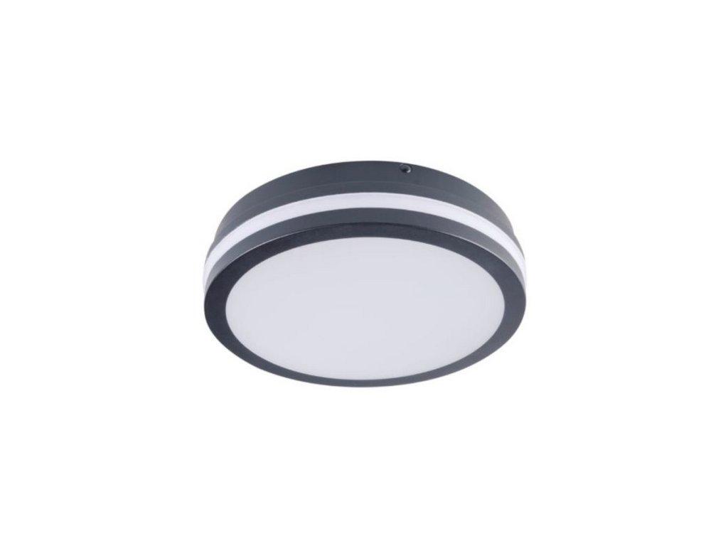 LED prisadené svietidlo so senzorom BENO NW O SE GR 24W 230V 1920lm 4000K IP54 grafit