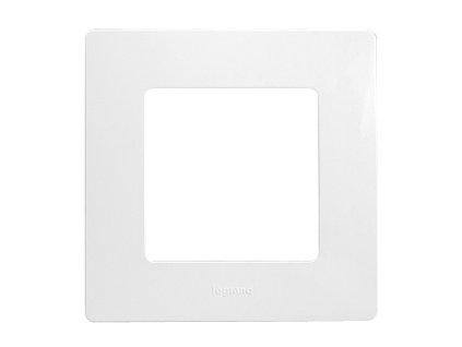 Legrand Niloe 1 rámik biely