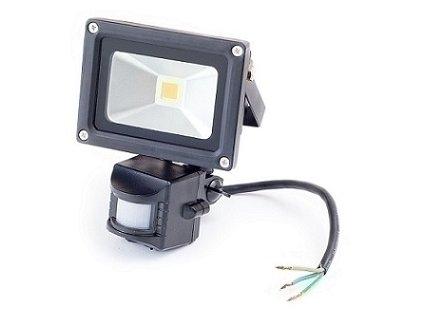 LED reflektor so senzorom 30W, teplá biela