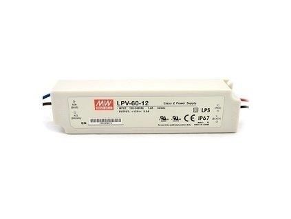 Napájací zdroj 60W pre LED IP67