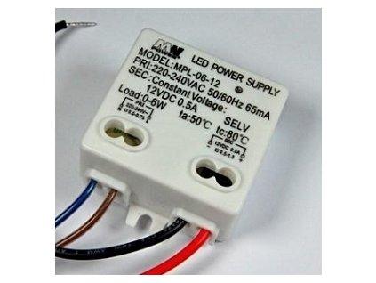 Napájací zdroj 6W pre LED