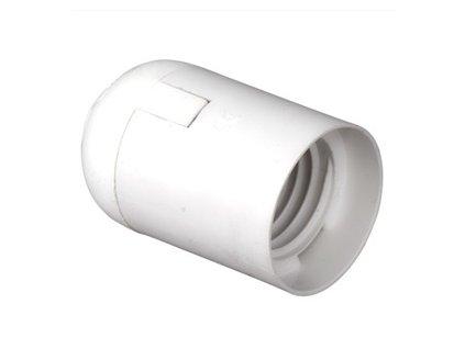 Objímka E27 plastová