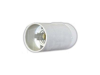 Objímka plastová E14
