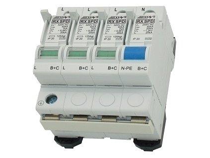 Zvodič prepätia SPD BC 4P 50kA Hess