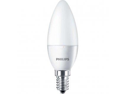 Žiarovka LED VALUE CL B 40W E14 470lm 6500K sviečka