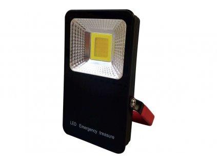 LED reflektor prenosný nabíjací GXLR003 10W840 700lm 6000mAh 5V 1A IP54