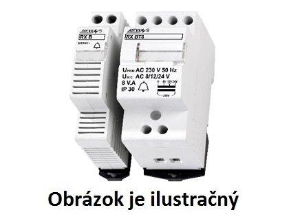 Zvončekový transformátor RX BT8 na DIN lištu