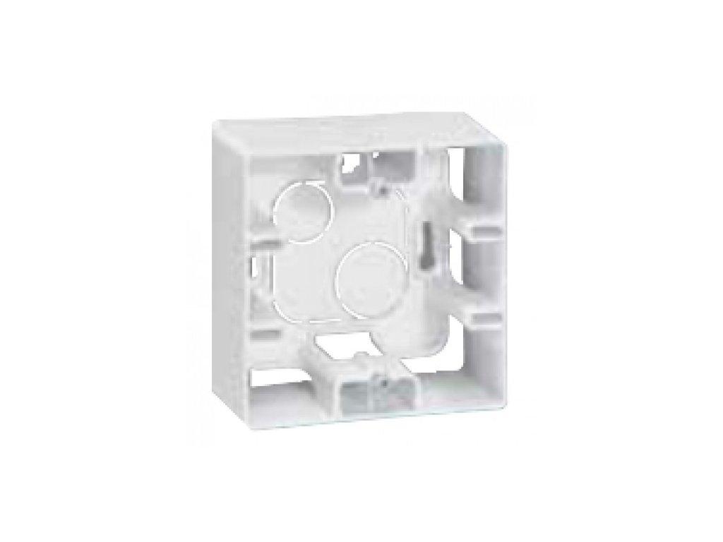 133005 niloe krabica pre povrchovu montaz 40mm biela